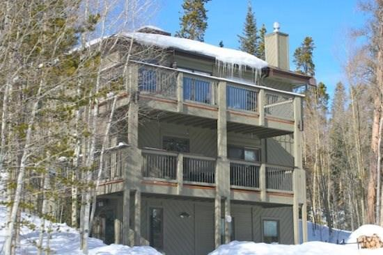 Exterior of Bear Lodge - Bear Lodge - Top of the World Views!! - Silverthorne - rentals