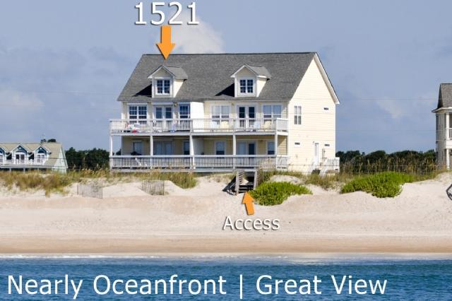1521 New River Inlet Road | Unobstructed View - New River Inlet Rd 1521 - North Topsail Beach - rentals