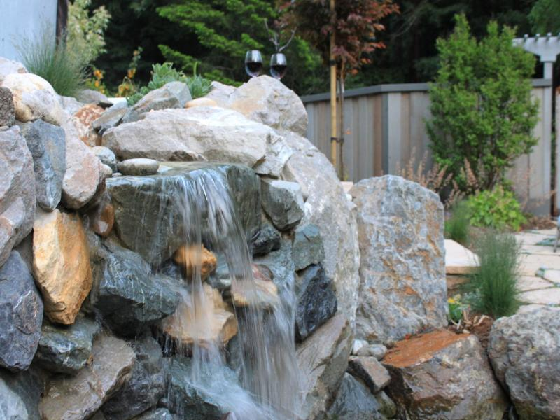Shhh...listen - Cottage Nestled in Redwoods with Unique Waterfall - Loma Mar - rentals