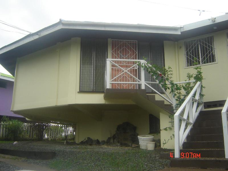 Front View of BougainVilla 14A - Villa 14A: A 2 br//2bth just one minute fr beach only US$150 for 2 br/2bth sleeping up to 4 ppl. - Lambeau - rentals