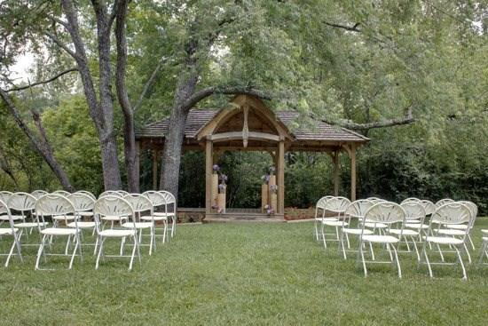 Cherry Log Pavilion-Events Venue-SINGLE DAY EVENTS AVAILABLE (ASK ABOUT 2ND DAY DISCOUNTS), CALL OFFICE TO BOOK-Now Available for Weddings and Reunions-Banquet Room with Fireplace-Full Kitchen-Men and Women`s Restroom`s-Creek~See Pricing Details! - Image 1 - Blue Ridge - rentals
