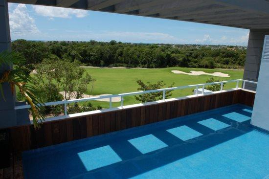 Nick Price Hole in One - Rooftop common area - Vacation rentals Playa del Carmen - Nick Price Hole In One - Playa del Carmen - rentals