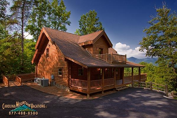 Peaceful Paradise Log Cabin - Image 1 - Bryson City - rentals