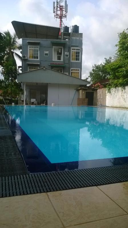 Pool and Apartment View - New - Luxury Apartment, Ragama  Sri Lanka with Swimming Pool - Ragama - rentals
