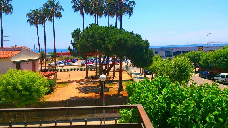 Oceanfront apartament  100m train - Image 1 - Cabrera de Mar - rentals