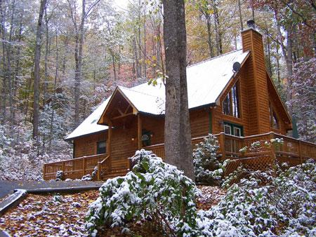 Holly Ridge Chalet - Image 1 - Sylva - rentals