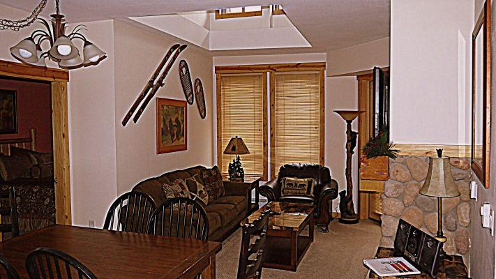 TC413  Taylors Crossing  2BR 2BA - Center Village - Image 1 - Copper Mountain - rentals