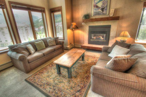 TL516 Telemark Lodge 1BR 2BA - Center Village - Image 1 - Copper Mountain - rentals