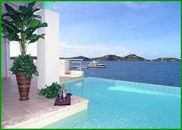 This elegant and spacious 5 bedroom, 5 1/2 bathroom waterfront villa. - Image 1 - Saint Martin-Sint Maarten - rentals
