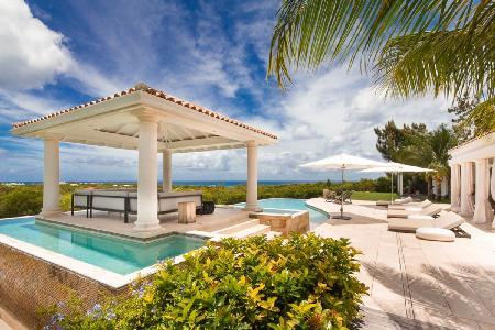 Agora - Modern villa overlooking Caribbean Sea offers pool & privacy - Image 1 - Terres Basses - rentals