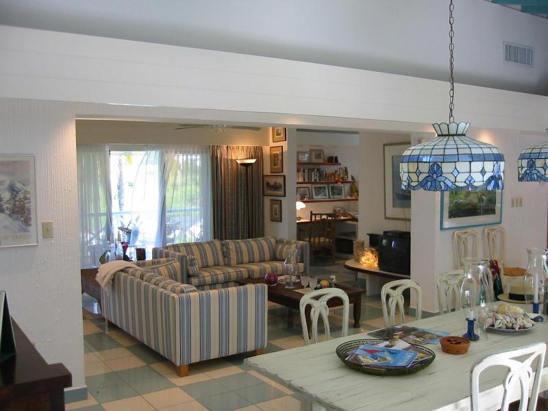 Living room  - Peacock Cottage at Almond Grove Estate - Saint Martin-Sint Maarten - rentals