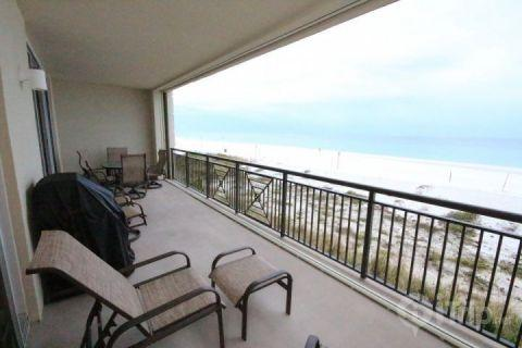 Private Balcony with a Gas Grill - Bella Riva #105 - Okaloosa Island - rentals