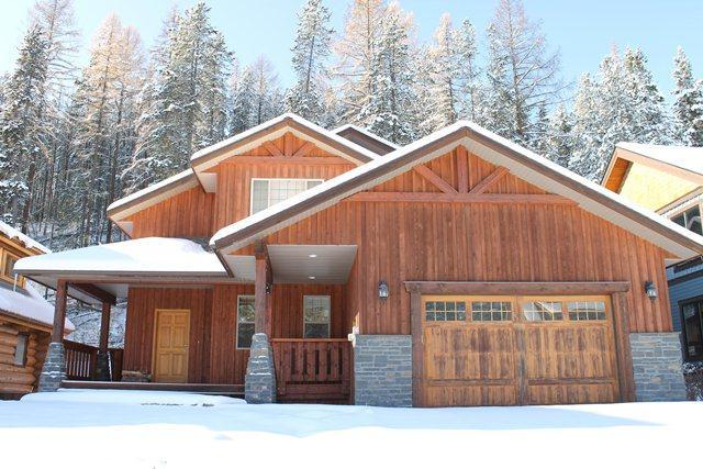 Winter Exterior - Kimberley 5bdrm Luxury Home...Private Hot Tub! - Kimberley - rentals
