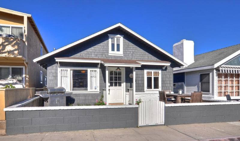 Street View - Quaint Remodeled Cottage -  3 Houses To The Sand! - Newport Beach - rentals