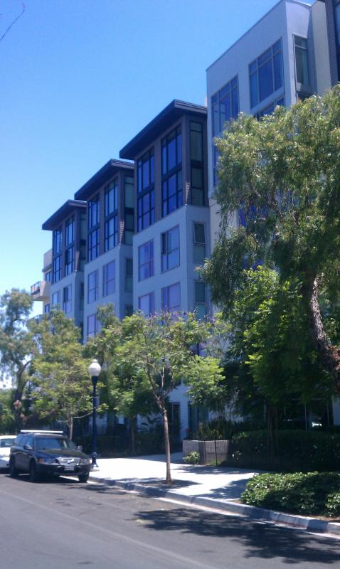 Building Front - World Class Park Space and Urban Living - San Diego - rentals