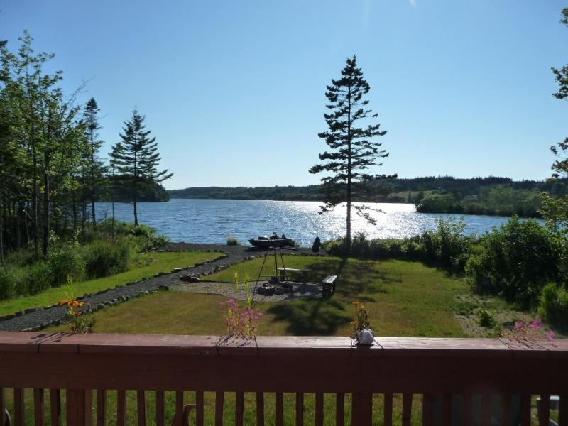 view from the deck - COSY LAKE COTTAGE 1-2 BEDROOM / DIGBY NECK - Digby - rentals