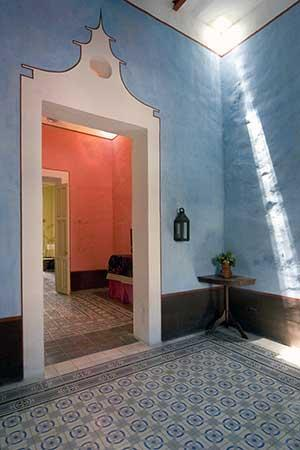 Entry - Orangerie de Santa Ana seen in Conde Nast Traveler - Merida - rentals