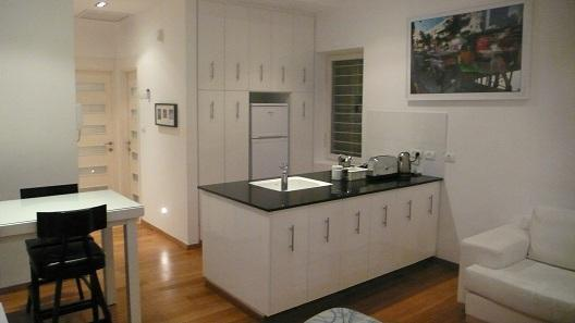 Open Kitchen - Unit A- Amazing Apartment In The Heart Of Tel-Aviv - Tel Aviv - rentals