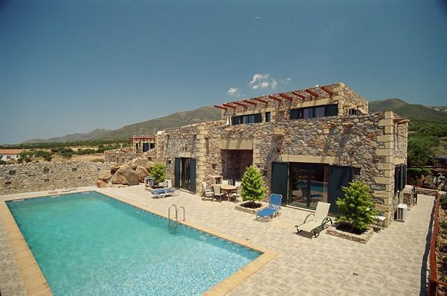 Villa Lefkothea, a 4 bedroom villa with sea view - Image 1 - Chania - rentals