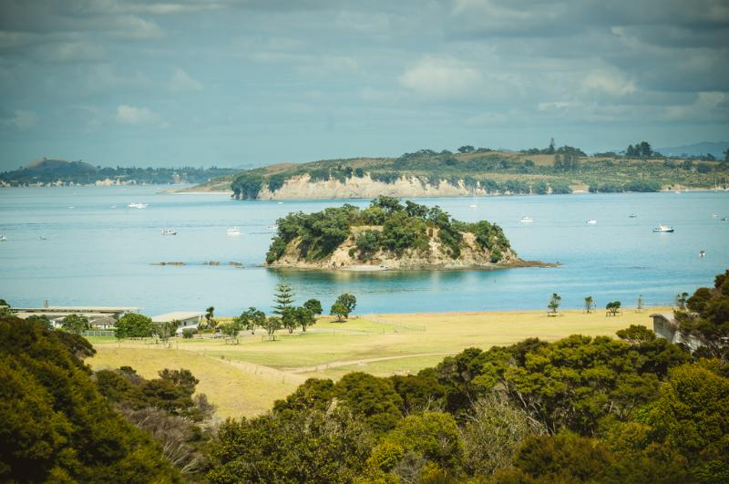 Stunning view from the Loft - Winemakers Loft  Luxury with sea+vineyard views - Waiheke Island - rentals