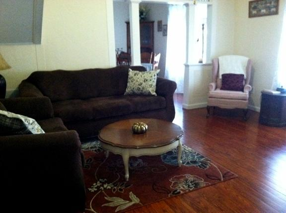Living Room - TSC West House: University of Fla. - Private Home - Gainesville - rentals