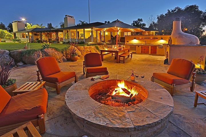 Year round outdoor ambiance - Bella Vista - Santa Barbara - rentals