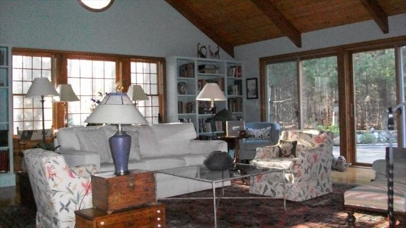 Eating Area off the Kitchen - 1 Holly Pond Rd - Marion - rentals