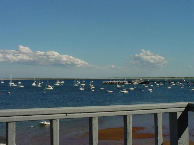 Deck View - Spacious West End Waterfront, 3/2, Beach Access - Provincetown - rentals