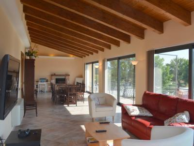 Large Living Room / Dining Room Panoramic Views of the Mountains, Countryside and Medieval Town Center - Penthouse Apart. with Panoramic Views near Gubbio - Sigillo - rentals