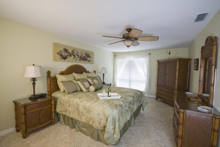 Retreat to the luxurious master bedroom - Updated 2/2 beachy luxury at Bowman's Beach - Sanibel Island - rentals
