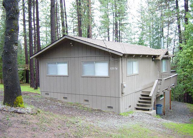 Cozy cabin nestled in the pines- walk to marina, fireplace, game table - Image 1 - Groveland - rentals