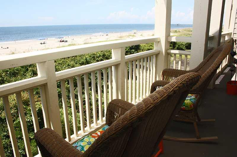 Balcony at the Beach #1008 - Image 1 - Caswell Beach - rentals