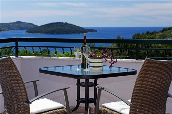 Apartment for 3 persons near the beach in Korcula - Image 1 - Vela Luka - rentals