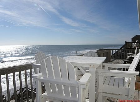 2nd Floor Deck Too - A Lil' Piece of Paradise - Surf City - rentals