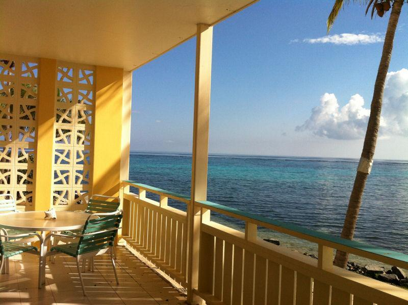 Spectacular View west from 27 Foot Balcony looking West - Stunning Sea- Breathtaking Views at Aqua Dream - Christiansted - rentals