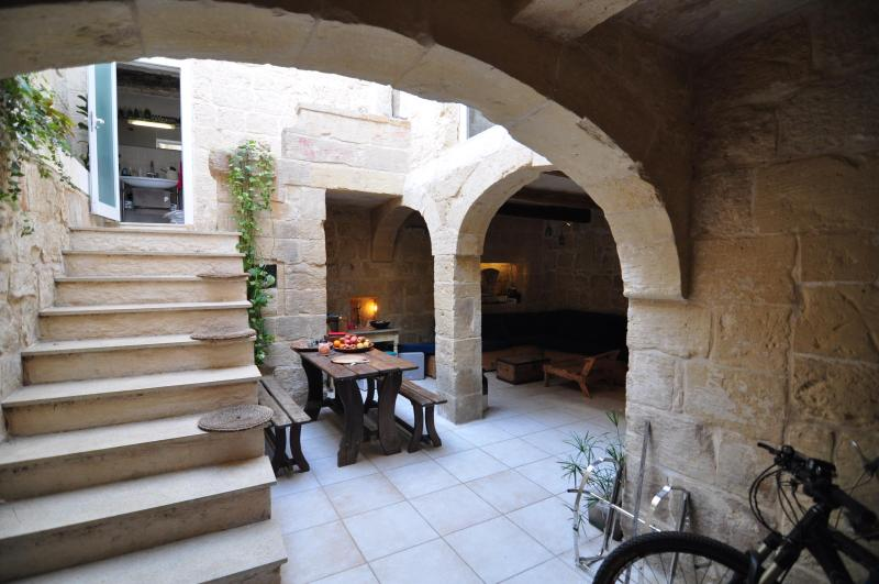 Perched right next to century-old bastions, surrounded by stunning baroque architecture - 400 Year old house near the Mdina Gate! - Mdina - rentals