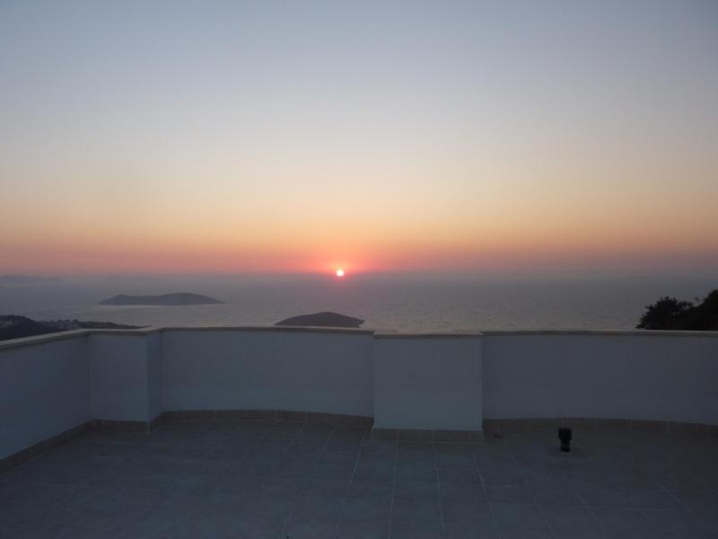 Sunset from roof-top terrace - Yalikavak Holiday Gardens - Yalikavak - rentals