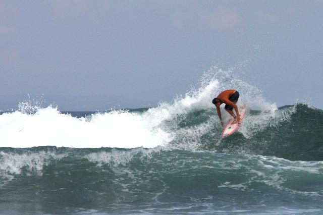 Surfing at nearby Echo Beach - . - Pererenan - rentals