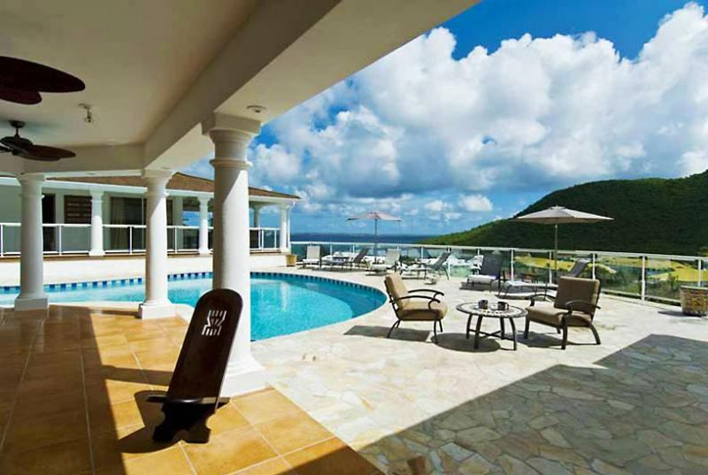 St. Martin Villa 33 Commanding Stunning Views Over The Bay And Marina. - Image 1 - Anse Marcel - rentals