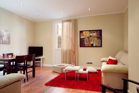 Living Room - Right next to the Barceloneta Beach - Port Vell - Barcelona - rentals