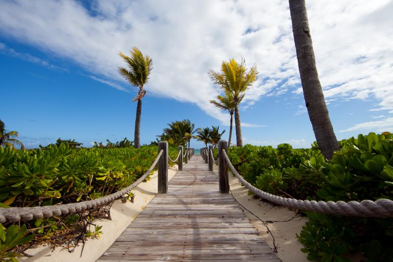 steps to the ocean - 1 Bedroom Ocean Front Northwest Point Condo - Providenciales - rentals