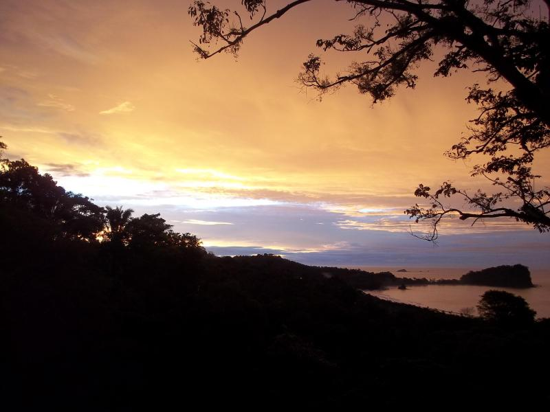 Morning view from Casa Buena Vista - Casa Buena Vista B & B Cottage - Manuel Antonio - rentals