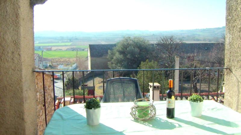 Terrace with parnoramic views! - The Ramparts Gîte - Languedoc-Roussillon - rentals