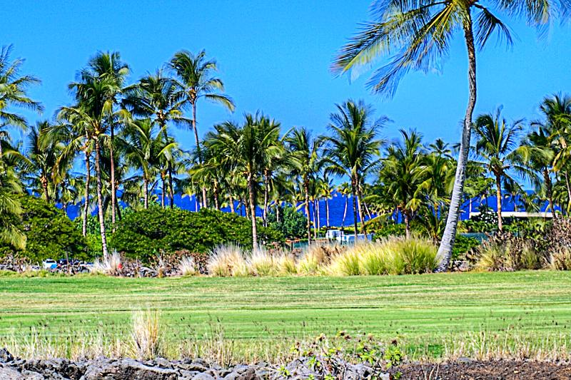 Westerly view from lanai - New to FlipKey- Private Ocean view Villa - Waikoloa - rentals