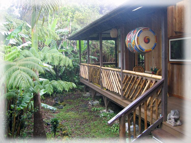 Zen Setting in Volcano's Historic Deep Rainforest Retreat - Lotus Garden Cottages in Volcano Village - Volcano - rentals