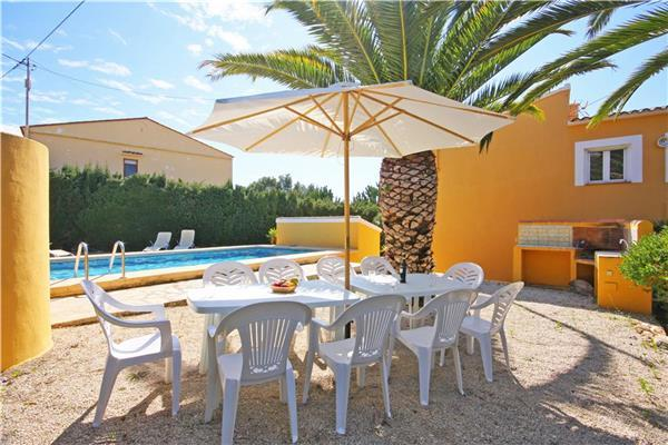 Holiday house for 11 persons, with swimming pool , in Calpe - Image 1 - Calpe - rentals