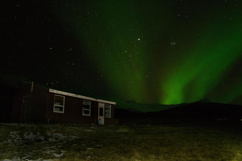 aurora borealis - Cottage between Djupivogur and Hornafjordur - Northeast Region - rentals