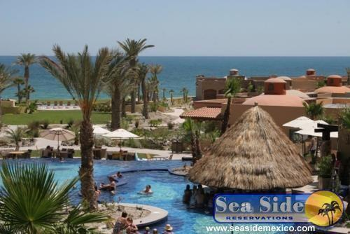Pool with Swim up bar and Ocean View - Bella Sirena 304D - Beautiful Resort - Rocky Point - rentals