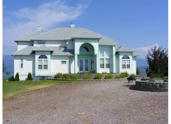 Front view of house - Three Level Vacation Paradise on Flathead Lake - Polson - rentals