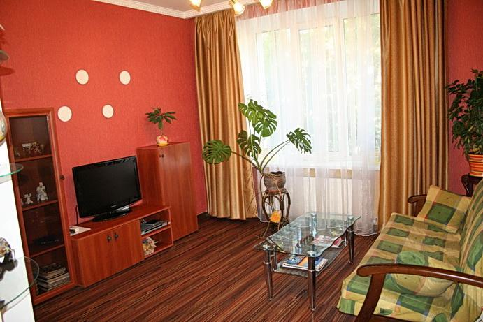 living room - One-bedroom apartment in the centre of Odessa / near str. Deribasovskaya - Odessa - rentals